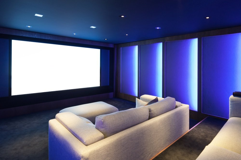 Home cinema super room